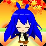 ミニキャラの秋 ライブ壁紙 │ かわいい姿に癒される