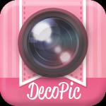 かわいい写真加工&文字入れはDECOPIC★無料カメラアプリ │ 【kawaii】超デコっちゃお♥