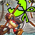 パイレーツオブコング │ 【パズル】海賊船から脱出!